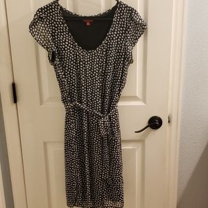 Merona Black and White Polka Dot Dress